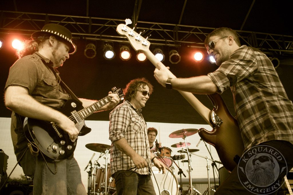 The Band Rocking in Ottawa