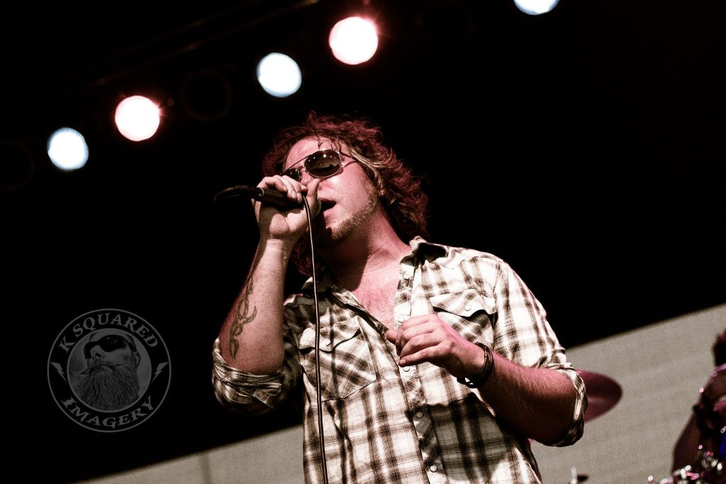 Rich Perez on Lead Vocals