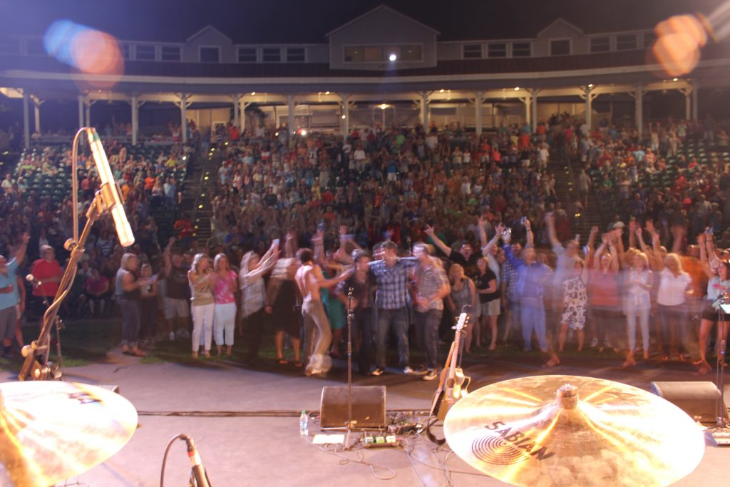 The Crowd in Kentucky!